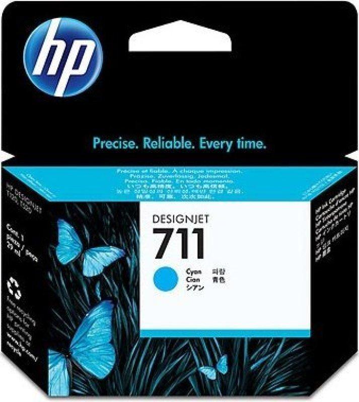 HP 711 Cyan OriginalInk Cartridge - Standard Yield 29ml - CZ130A