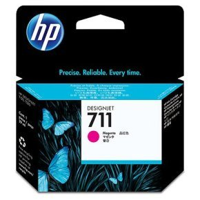 HP 711 Magenta 29ml Ink Cartridge - CZ131A