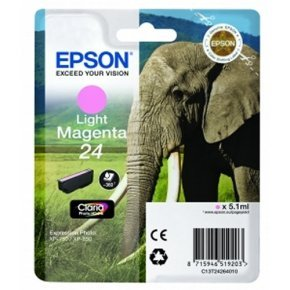 *Epson 24 Light Magenta Ink Cartridge- Blister Pack