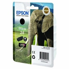 *Epson 24 Black Ink Cartridge- Blister pack