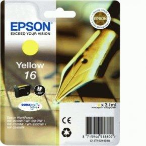 Epson 16 Yellow Ink Cartridge