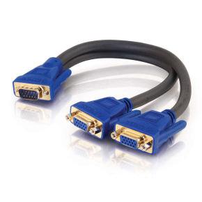 C2G, Ultima HD15 Male to Dual HD15 Female SXGA Monitor Y-Cable
