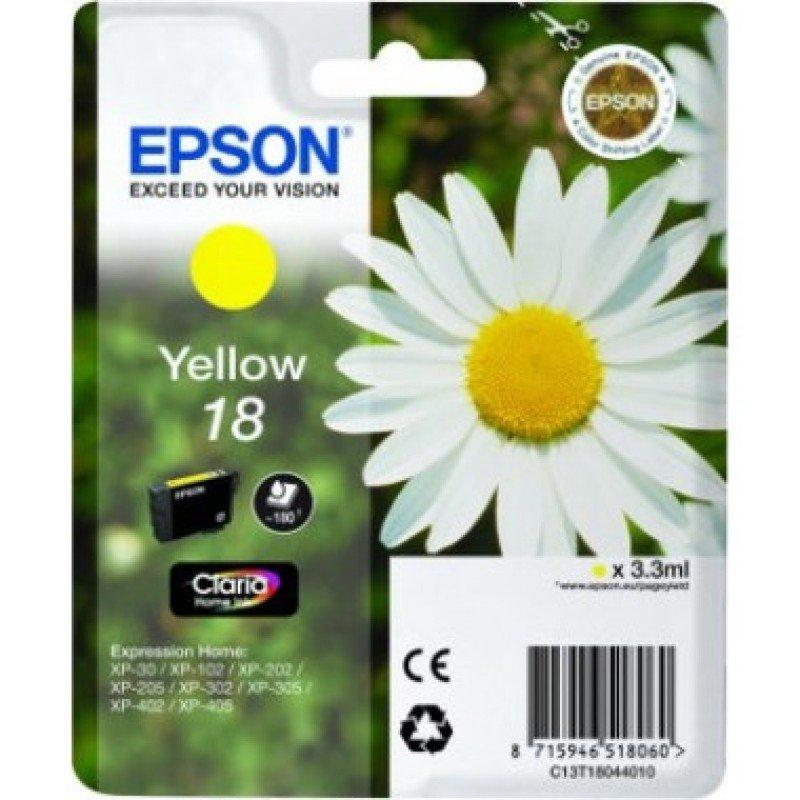 Epson 18 Yellow Ink Cartridge