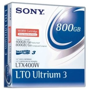 Sony LTO Ultrium 3 400/800GB WORM Back Up Media Tape