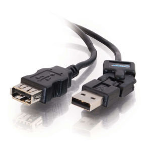 C2G, FlexUSB A Male to A Female Extension Cable