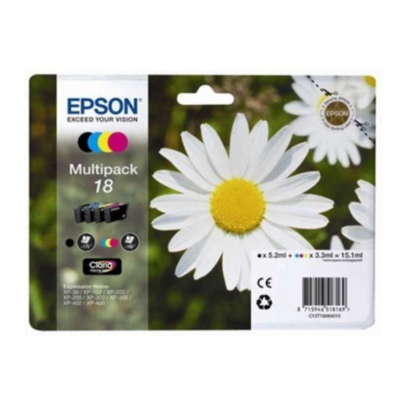 Epson T1806 Multipack Ink Cartridge