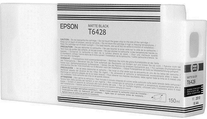 Epson T6428 Matte Black Ink Cartridge