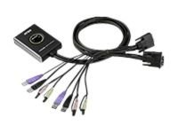 Aten 2-port Usb 2.0 DVI KVM Switch