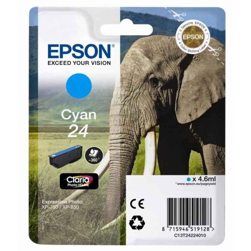 Epson T2425 Light Cyan Ink Cartridge- Blister Pack3