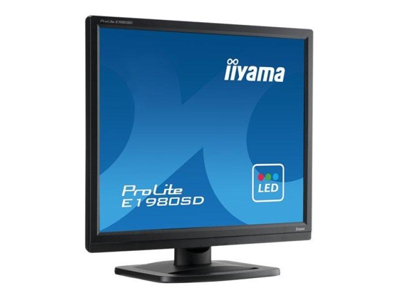 Iiyama ProLite E1980SDB1 19&quot LED LCD DVI Monitor