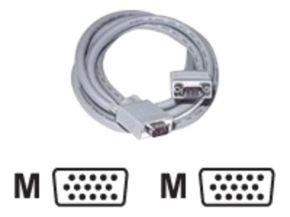 C2G, Premium Shielded HD15 M/M SXGA Monitor Cable, 2m