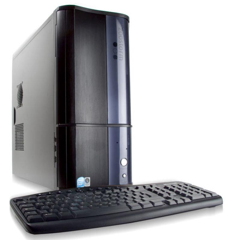 Zoostorm Gaming Desktop PC, Core i7-920, 3GB DDR3 Triple Channel Ram, 750GB SATA HDD, DVDRW, 512MB DDR3 GTS250 Graphics, Vista Home Premium 64Bit