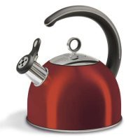 Morphy Richards 46501 2.5l Whistling Kettle Red