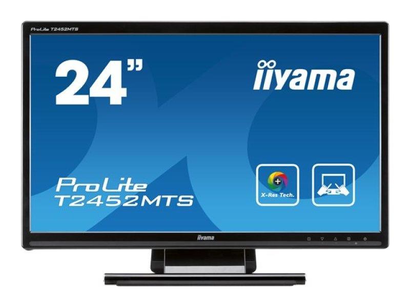Iiyama T2452MTSB1 23.6&quot LED LCD Multi Touch HDMI Monitor