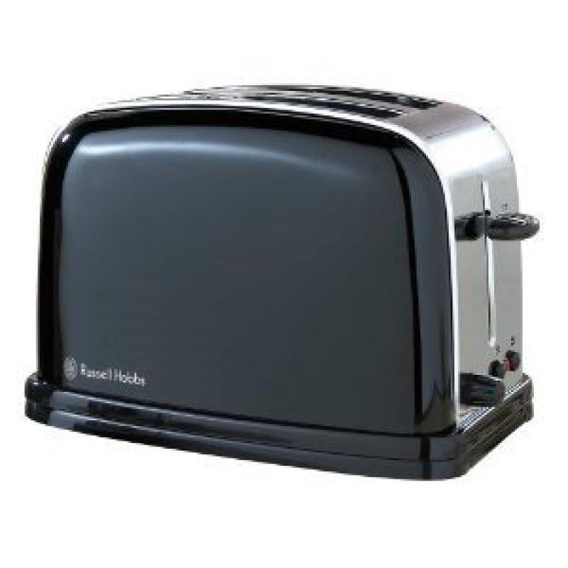 Russell Hobbs 14361 S/Steel 2 Slice Toaster Black