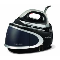 Morphy Richards Power Steam Elite 42221 Pressurised Steam Generator Ceramic Soleplate Black