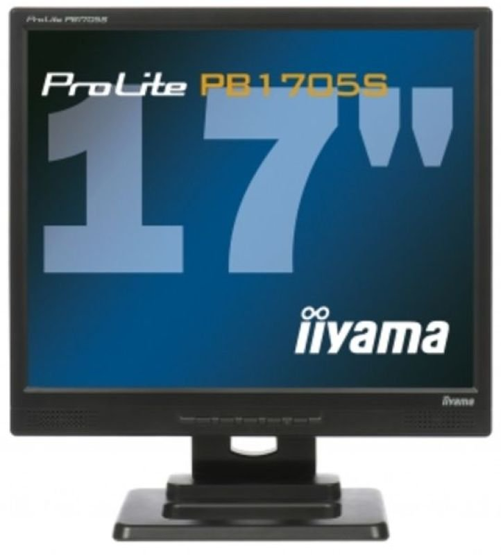Iiyama PB1705S 43 LCD Hard Glass 17&quot DVI Monitor  Height Adjust