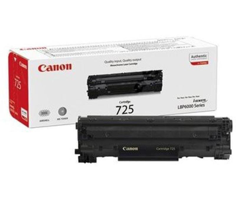 Canon 725 Black Toner Cartridge- Blister