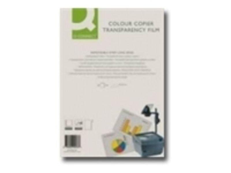 Q CONNECT OHP FILM COLOUR COPIER PK50