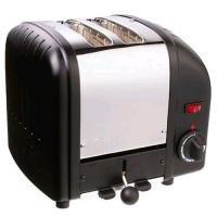 Dualit 2 Slice Vario Toaster Black
