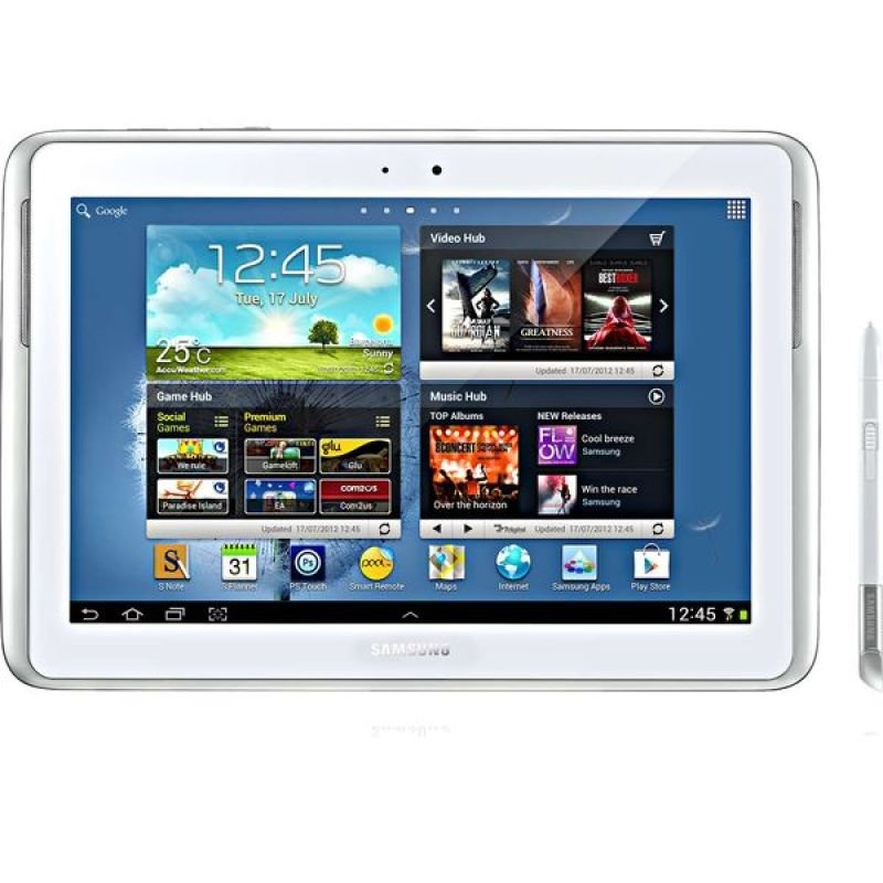 Samsung Galaxy Note 10.1 Wifi - Tablet - Android 4.0 - 16 Gb- White