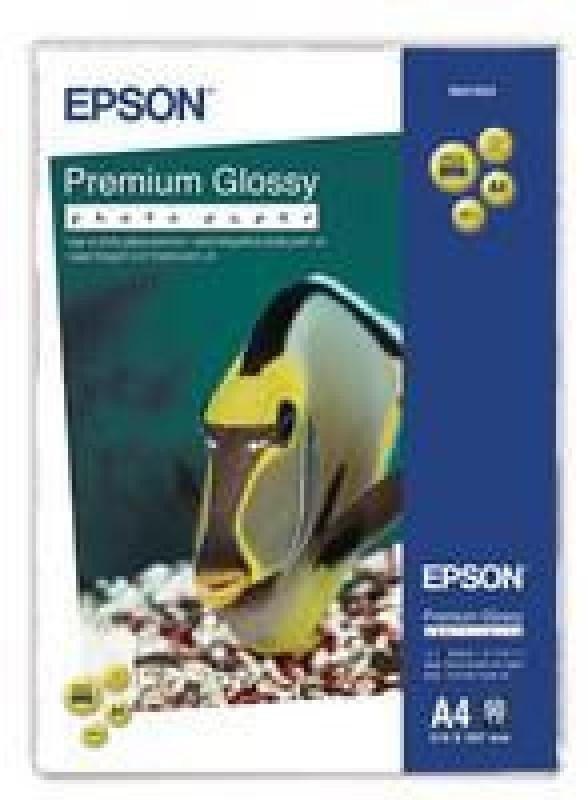 Epson Premium Glossy Photo A4 Paper (Pack of 50)
