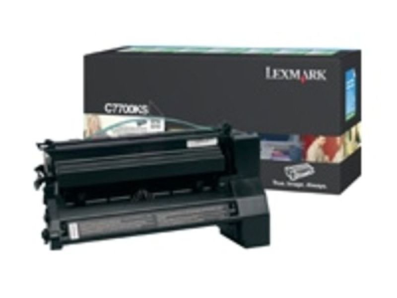 RETURN PROG. TONER CARTRIDGE BK - 6K PGS F/ C770/ C772 BLACK
