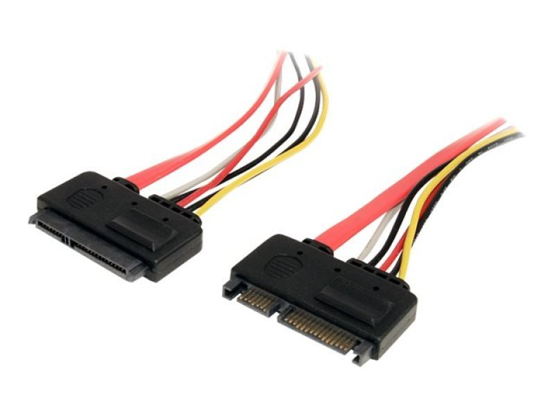 Image of 12IN 22 PIN SATA POWER AND DATA - EXTENSION CABLE UK