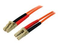 Fiber Optic Cable - Multimode Duplex 50/125 - LSZH - LC/LC - 3m