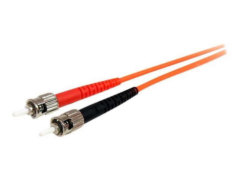 1m Multimode 62.5/125 Duplex Fiber Patch Cable LC - ST