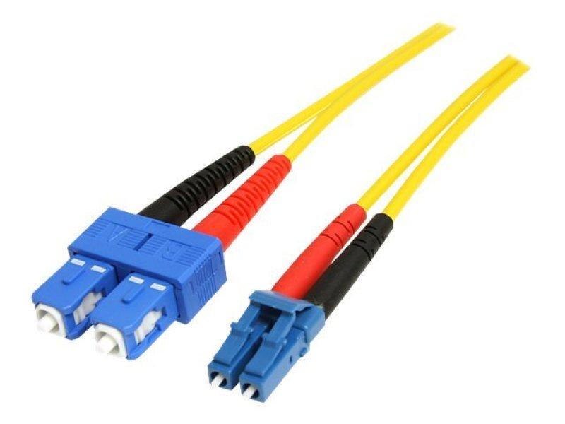 1m Single Mode Duplex Fiber Patch Cable LC-SC