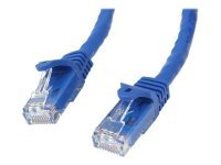 StarTech.com 3m Blue Gigabit Snagless RJ45 UTP Cat6 Patch Cable - 3 m Patch Cord