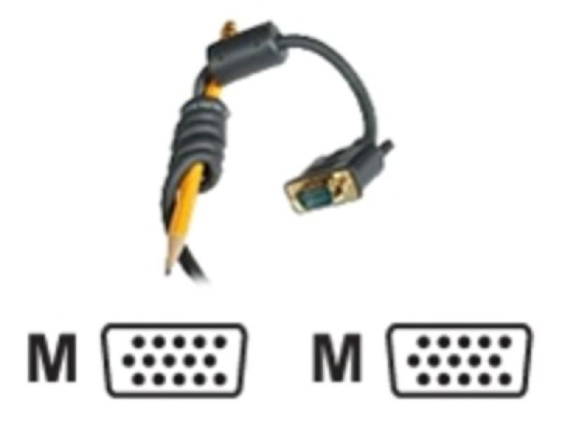 C2G, Flexima HD15 M/M UXGA Monitor Cable, 2m