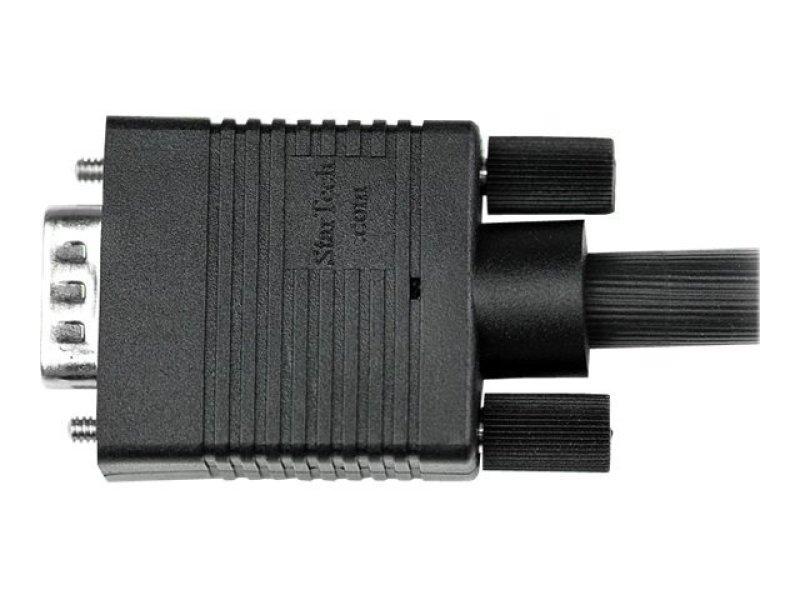 0.5m Coax High Resolution Monitor VGA Video Cable - HD15 M/M