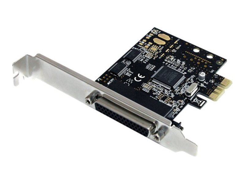2S1P PCI Express Serial Parallel Combo Card with Breakout Cable