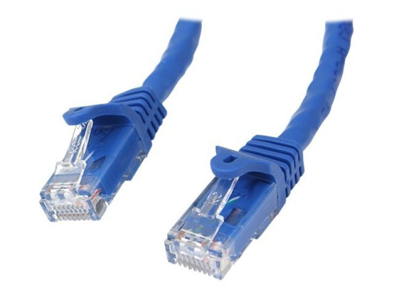 StarTech 5m Blue Gigabit Snagless RJ45 UTP Cat6 Patch Cable - 5 m Patch Cord