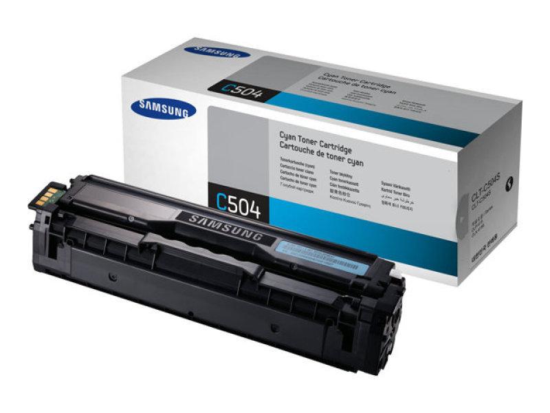 Samsung CLT-C504s Cyan Toner Cartridge - 1,800 Pages