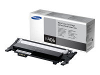 *Samsung CLT-K406S Black Toner Cartridge - 1,500 Pages