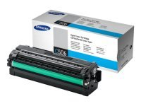 Samsung	CLT-C506L Cyan Original Toner Cartridge - High Yield	3500 Pages - SU040A