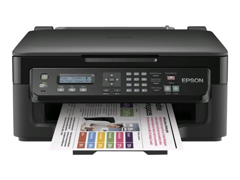 Epson WorkForce WF2510WF All in One Inkjet Printer