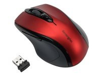 Kensington Pro Fit Mid Size Wireless Ruby Red Mouse