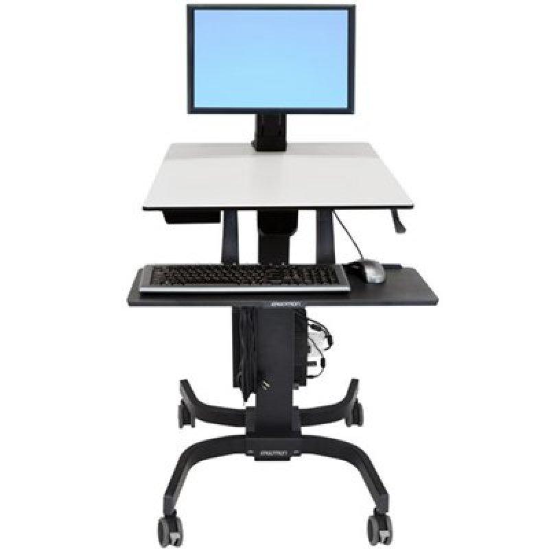 Ergotron WorkFit-C - Single LD Sit-Stand Workstation