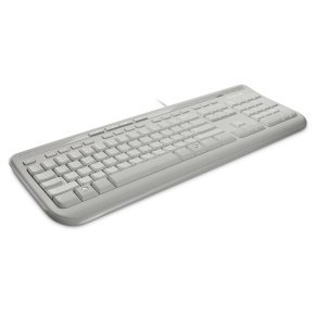 Microsoft Wired Keyboard 600 White - USB