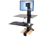Ergotron WorkFit-S - Single LD with Worksurface+