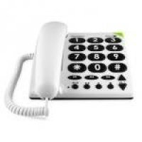 DORO PhoneEasy 311c - Corded phone - white
