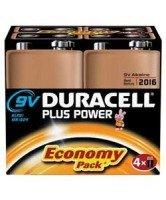 Duracell Plus Power 9V Batteries