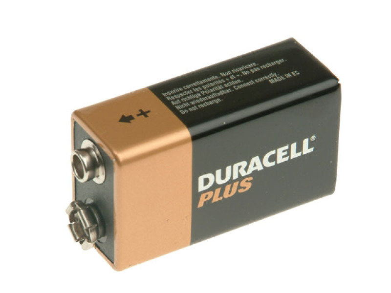 Duracell Plus Power 9V Batteries