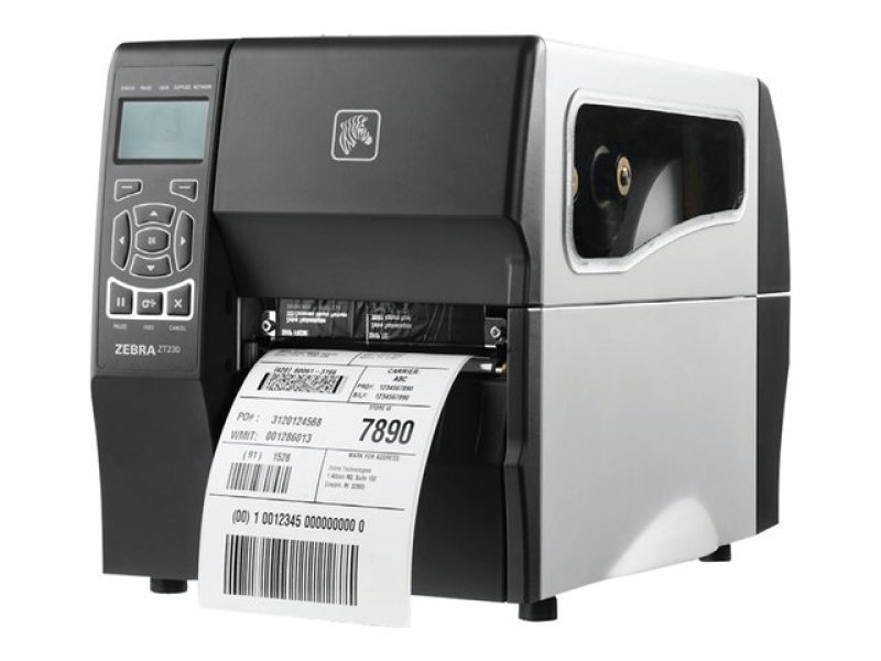 Zt230 Dt Zpl 203dpi - Rs232/usb 128mb Flash In