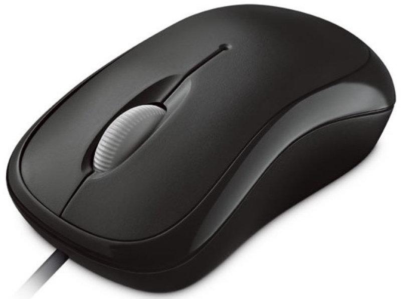 Microsoft Basic Optical Mouse-black