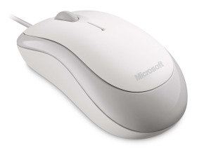 Microsoft Basic Optical Mouse-white